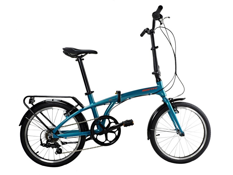 BICICLETA MONTY PLEGABLE SOURCE 20 6V AZUL